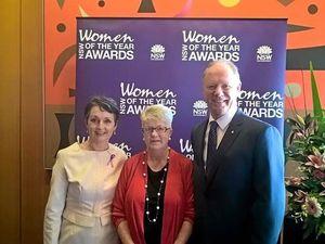 Sandra Ellicott honoured by Premier at NSW awards ceremony