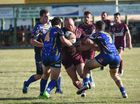 Isis lock Rhys Neil. Bundaberg Rugby League, Round 2: Isis Devils v Waves Tigers at Eskdale Park, Maryborough. Photo Matthew McInerney / Fraser Coast Chronicle