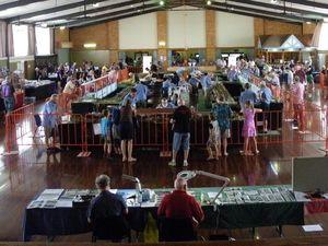Bundaberg train expo on this weekend