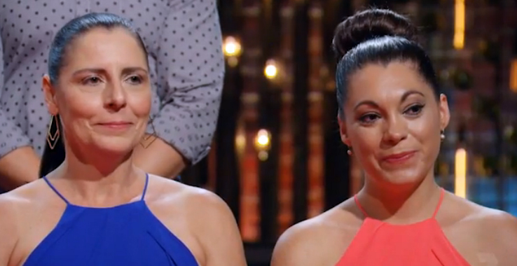 Hazel and Lisa were eliminated after the redemption round on My Kitchen Rules.