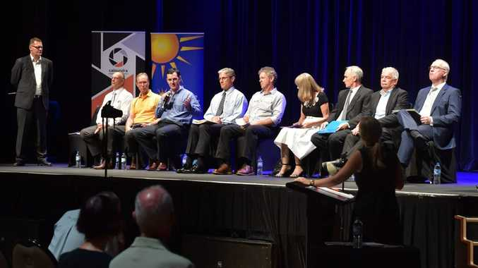 An election forum on the Sunshine Coast attracted significant attention.