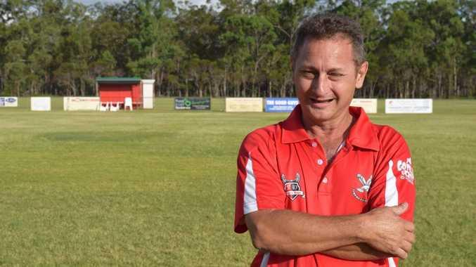 Tinana vice president Peter Kluytenberg. Football Maryborough. Photo Matthew McInerney / Fraser Coast Chronicle
