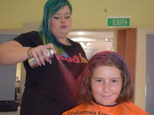 PHOTOS: Close shave to help blood cancer patients