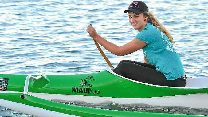 PADDLING AHEAD: Erin Hurst is looking forward to the championships which will be her second world-class experience.