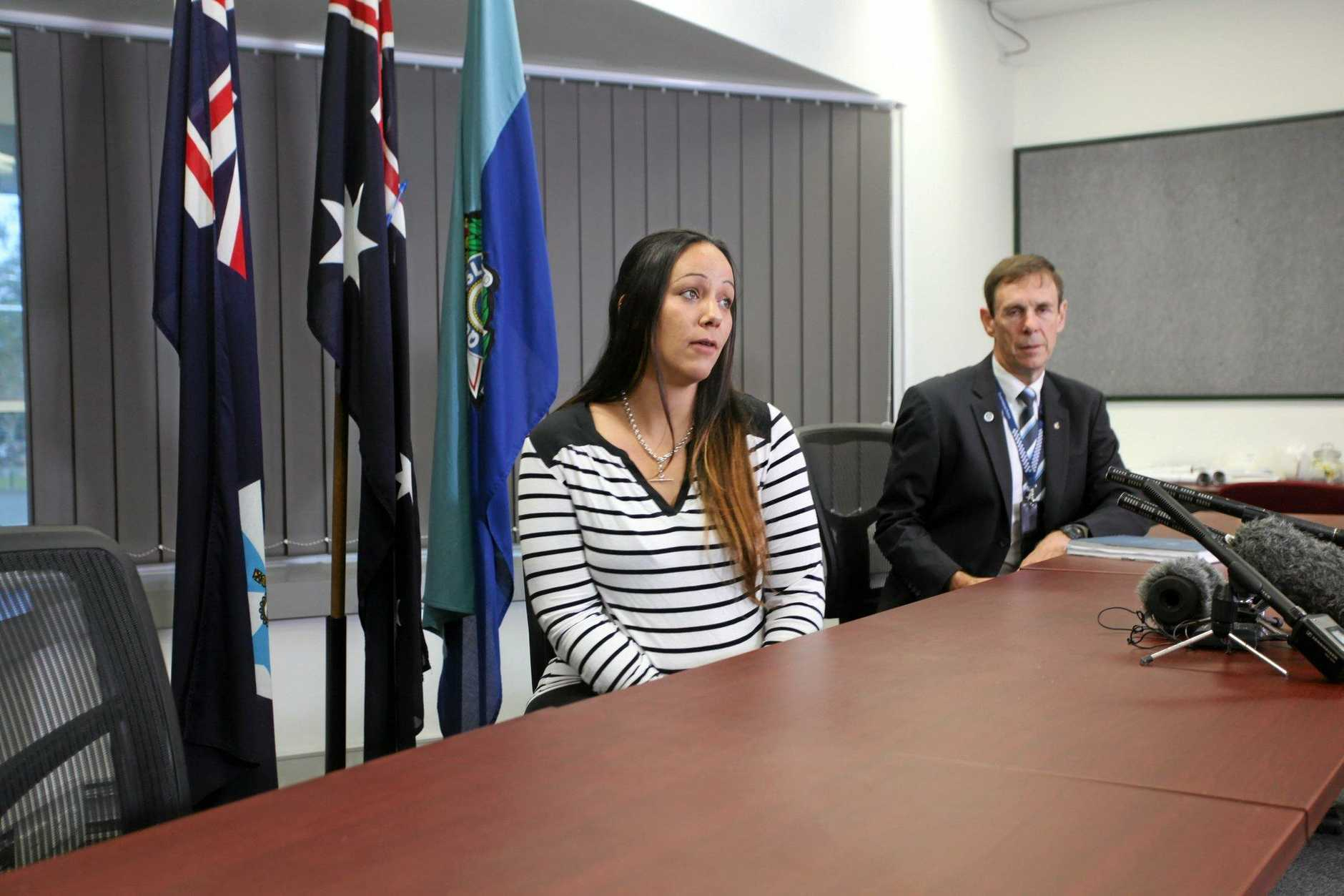 Tiahleigh Palmer's mother Cindy appeals for information on the disappearance and death of her daughter four months ago