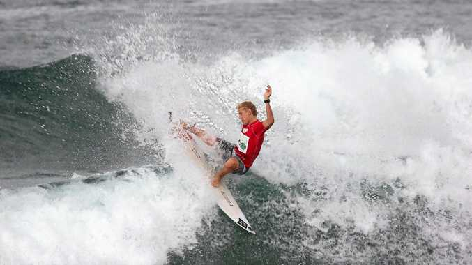HOME TURF: Angourie surfer Chris Zaffis is expected to attend the Yamba Surfing Festival when it comes to town in May.