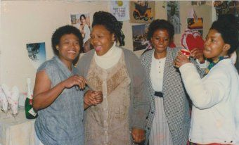 Betty Ketani (second from left) was kidnapped and murdered in 1999.