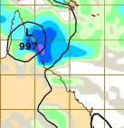 BoM is concerned the monsoonal trough could develop into a tropical cyclone, then move south.