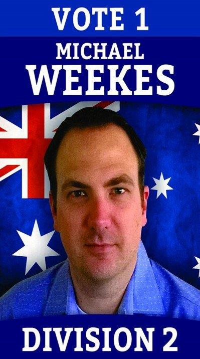 Division two candidate Michael Weekes.