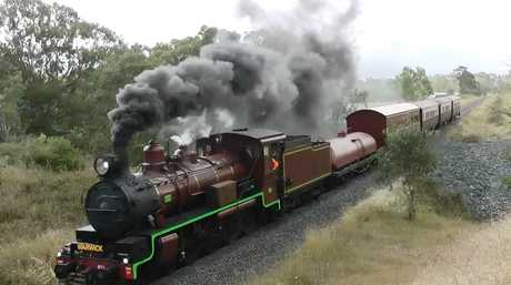 The SOuthern Downs Steam Railway is running a trip to Clifton this weekend.