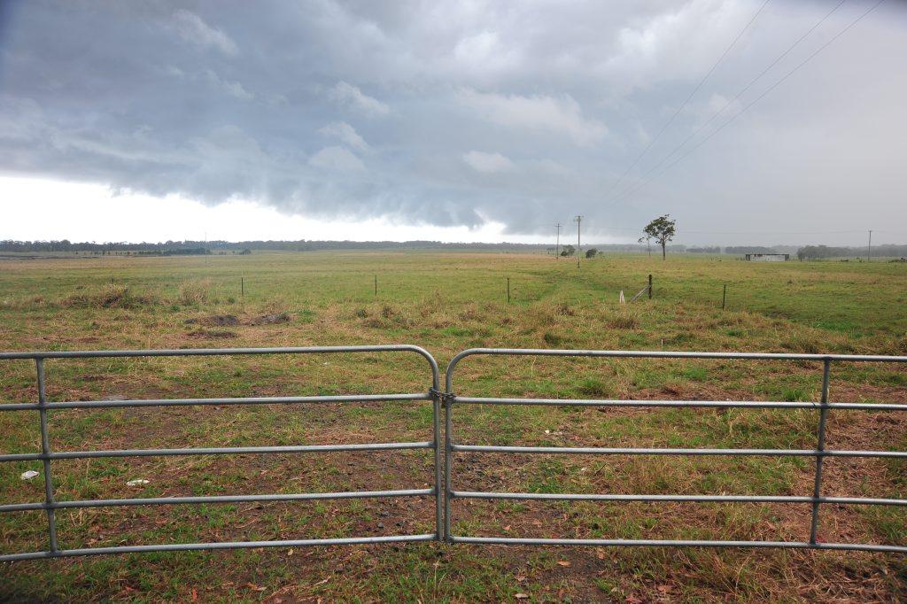 Palmview farmland east of the Bruce Highway near the Ettamogah Pub.