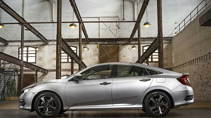 The 2016 Honda Civic sedan will arrive in June.