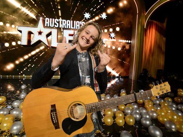 Australia's Got Talent winner Fletcher Pilon.
