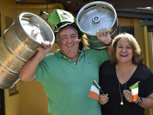 Irish ready to party