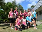 GET ACTIVE: Members of the Bundaberg Bears and the Bundaberg and District Junior Tennis Association - back row L-R: Yvette Jenkins, Carly Boag, Roxy Eichmann, Kellie Page, Lianne Bennett, Trish Scott. Front row: Kim Grimes, Mandie Dullaway, Kevin Banner.