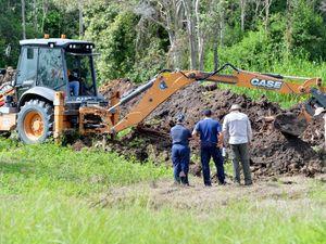 Police test soil in relation to Marilyn Wallman case