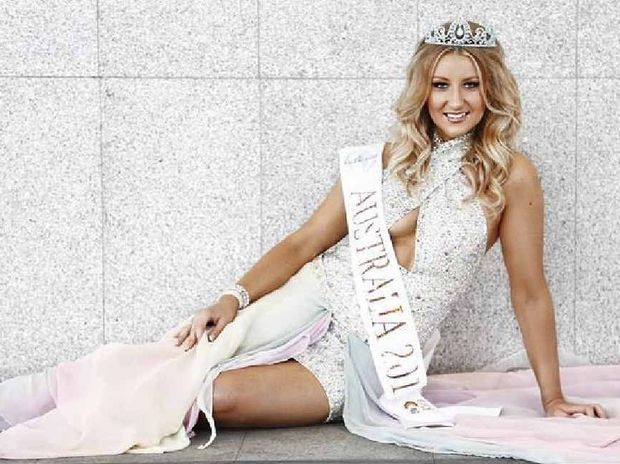 PAGEANT QUEEN: Erin Stanfield, 26, will head to Europe as a finalist in the Face Of The Globe.