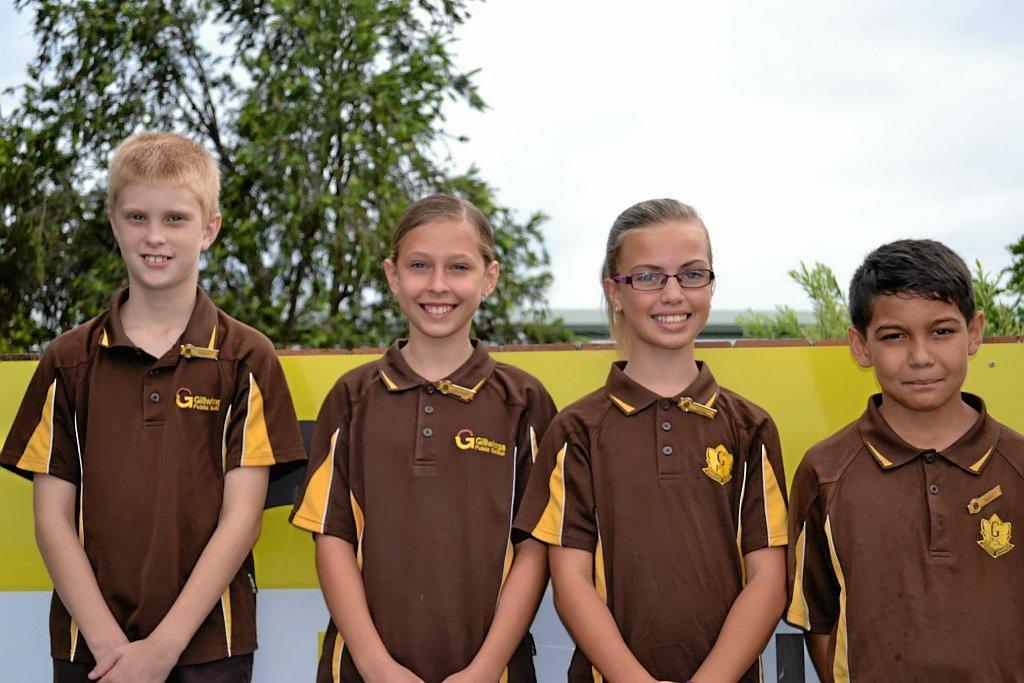 Gillwinga School Leaders for 2016.