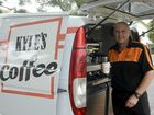 GOING MOBILE: Kyle Summer is a part of the growing trend of mobile coffee vans in the Clarence Valley with his new business Kyle's Coffee.