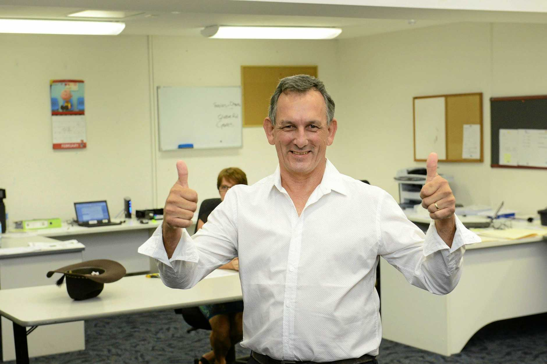Ipswich City Council elections mayoral candidate Gary Duffy. Photo: David Nielsen / The Queensland Times