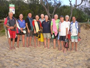 VIDEO: Seniors Surf Life Saving Series - Dicky Beach SLSC