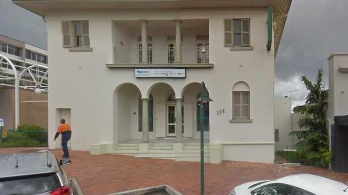 Santos will close its Goondoon St office on Friday.