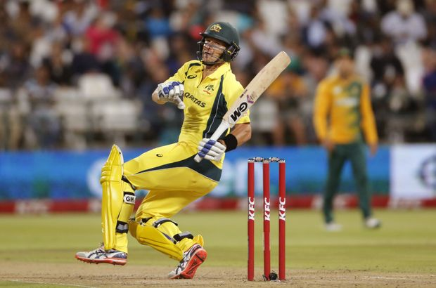 Shane Watson will open the batting for Australia. Photo: AAP Image.