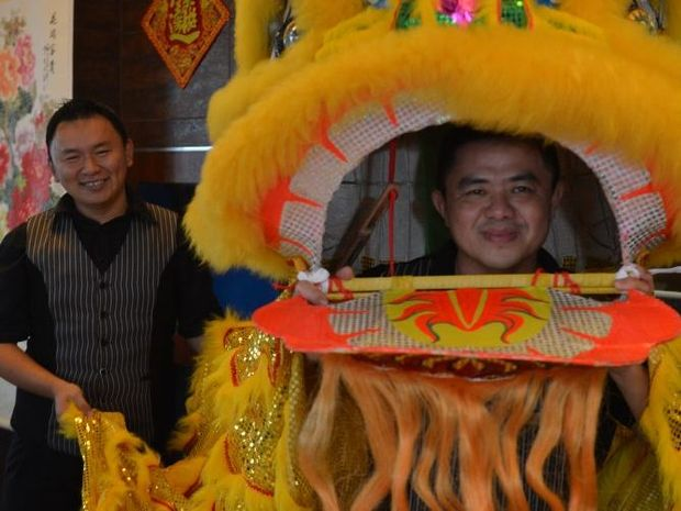 Eastern Port Yum Cha and Seafood Restaurant manager Eric Tan and Samson Wang were getting ready to celebrate Chinese New Year in 2014.