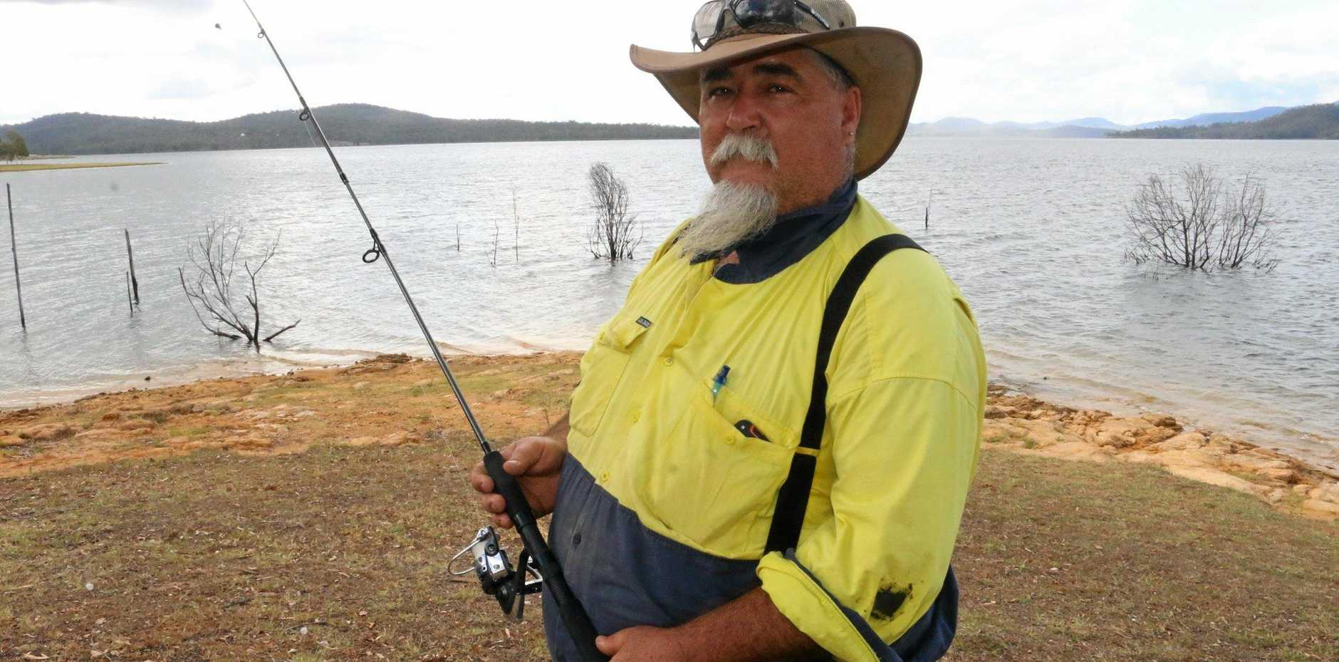 LIFT LIMITS: Daryl Beckett is pushing for speed restrictions and public access points to be improved on Wivenhoe.