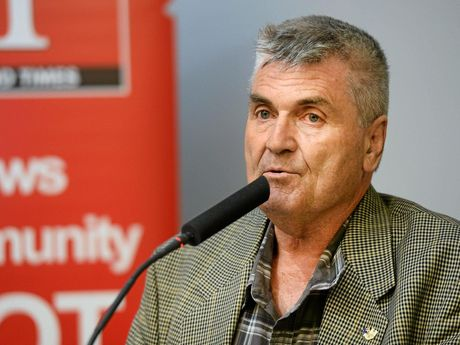 Division 10 candidate David Pahlke has heard opponent Steve Franklin is feeling confident.