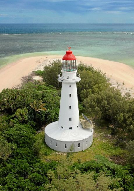 North Reef Lighthouse - 100km east of Gladstone.