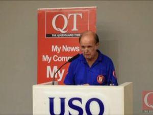 Div 5 Candidate USQ Forum - Barry Ryder