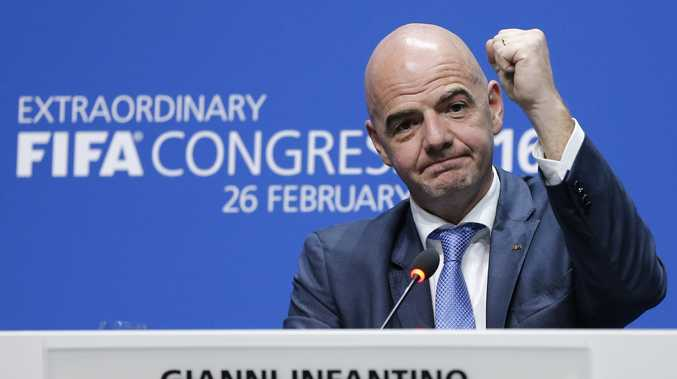 New FIFA president Gianni Infantino. Photo: AAP Image.