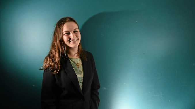 Kudra Falla-Ricketts, 18, is turning to politics with her endorsement as the Greens candidate for the Federal seat of Page today.