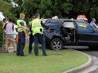 Kids injured in crash at Sadliers Crossing