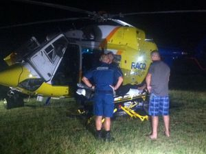 Man flown to hospital from Fraser Island after snake bite