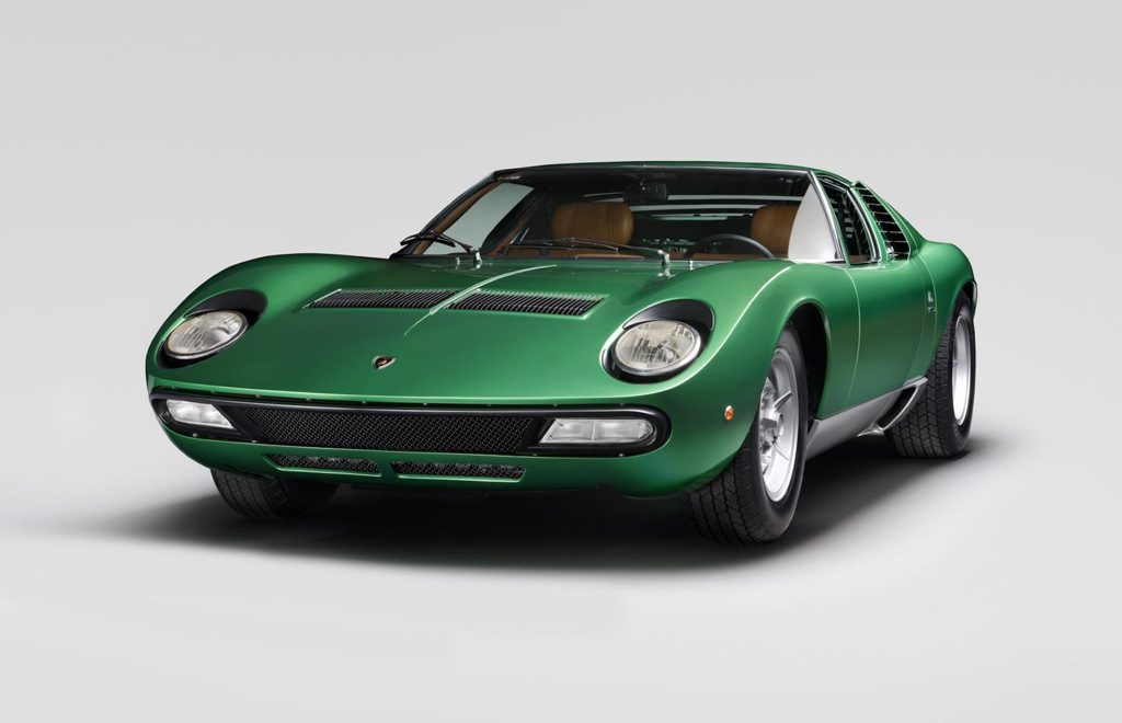 Restored 1971 Lamborghini Miura SV. Photo: Contributed.