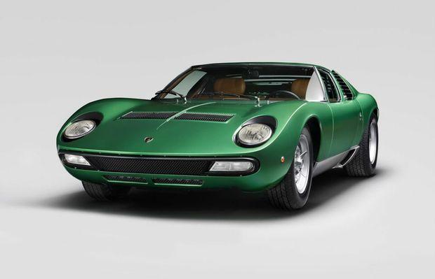 Restored 1971 Lamborghini Miura SV. Photo: Contributed.