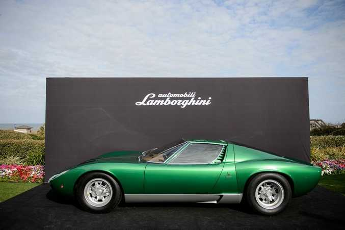 ALL CLASS: Half a century of the most beautiful sportscar ever made? Lamborghini restores the 1971 Miura SV used at the Geneva Motor Show back to perfection.