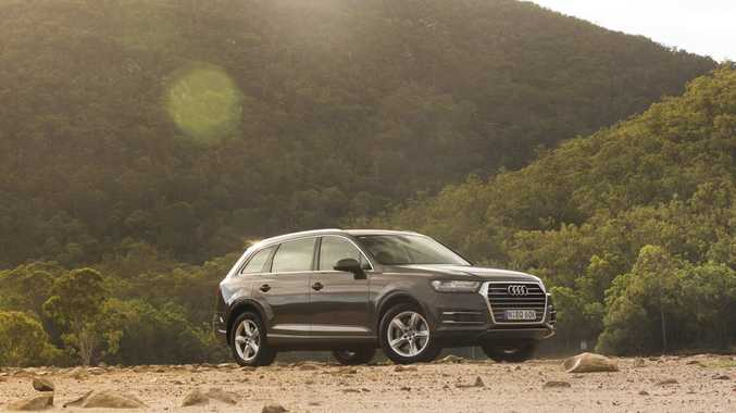 2016 Audi Q7 160kW. Photo: Nathan Duff.