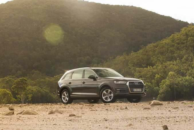2016 Audi Q7 160kW. Photo: Nathan Duff.