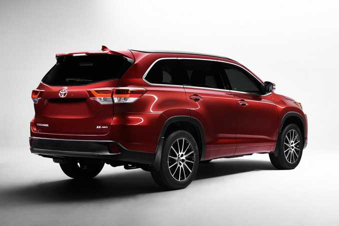 2017 Toyota Kluger. Photo: Contributed