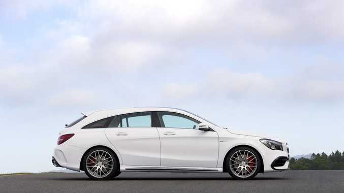 Mercedes-AMG CLA 45 Shooting Brake. Photo: Contributed