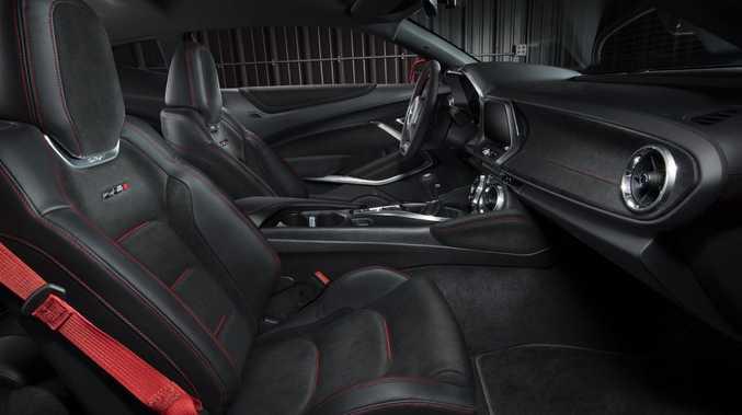 2017 Chevrolet Camaro ZL1. Photo: Contributed.