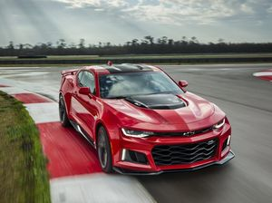 Camaro ZL1 teases at Holden's possible future