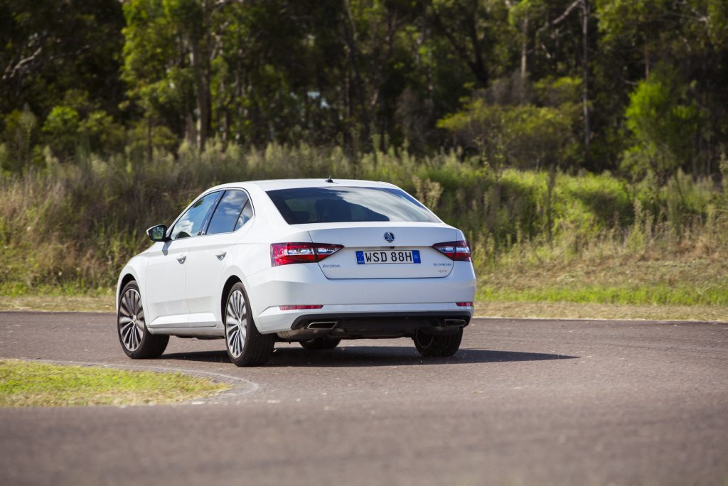 2016 Skoda Superb 206TSI. Photo: Contributed