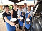 WATCH: Future baristas give Hervey Bay caffeine buzz
