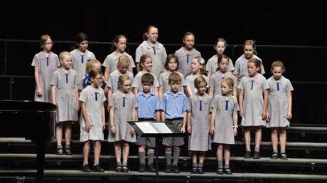 Choir, Mater Dei Primary School. The 123rd Heritage Bank Queensland Eisteddfod at the Empire Theatre. Primary and Secondary Choral & Vocal. March 18, 2016
