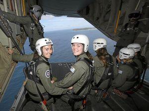 Flying high after RAAF camp stint