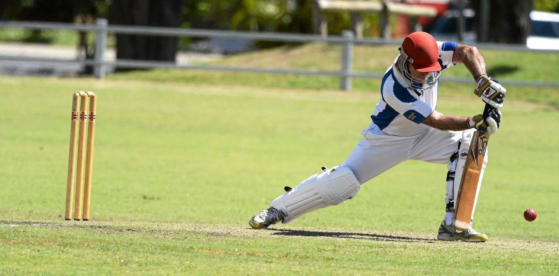 SOLID: Former Harwood Premier League opener Geoff Simmons has been solid at the top since making the jump to LCCA cricket